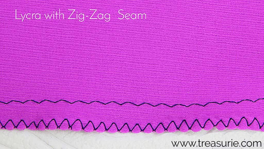 Zig Zag Stitch for Lycra