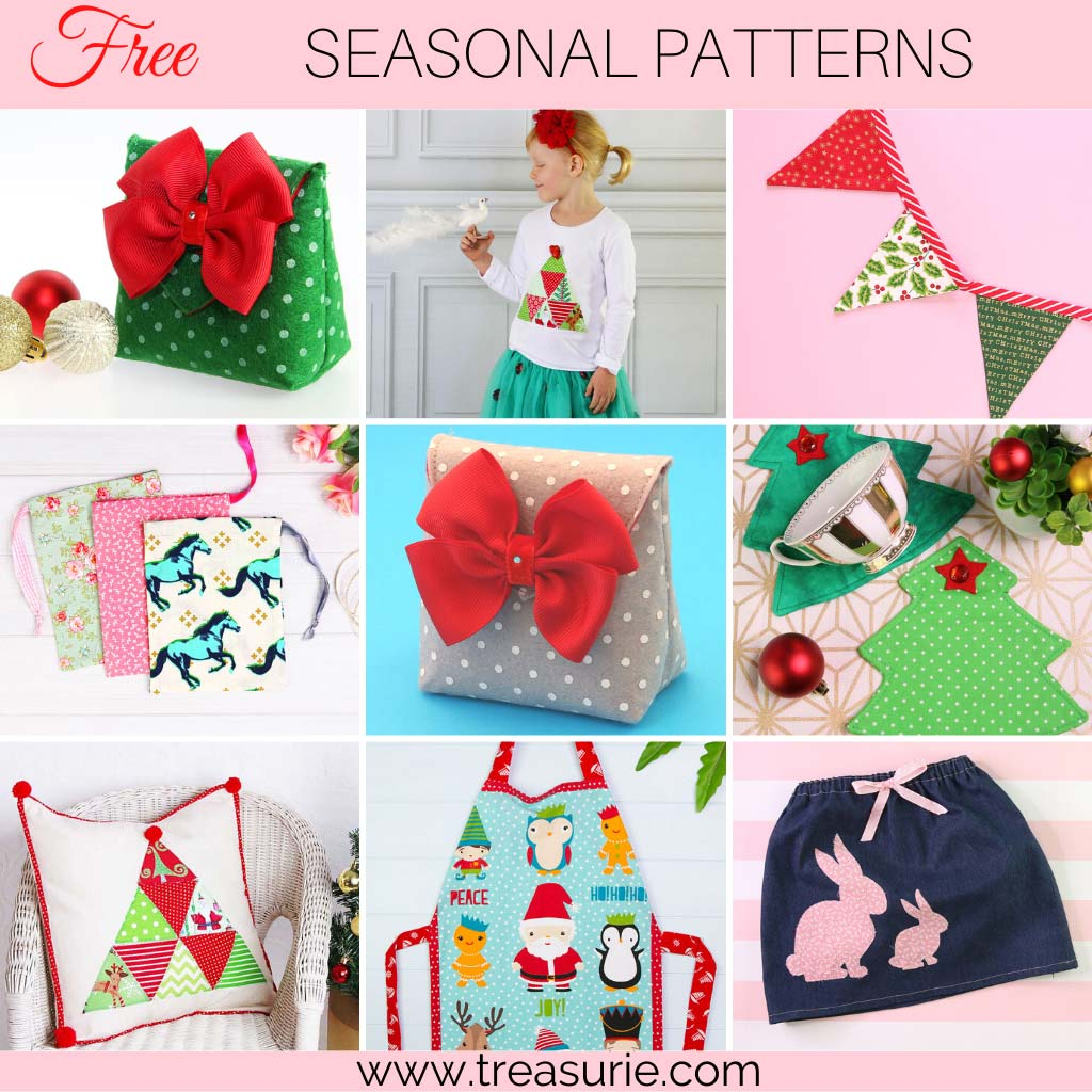 Sewing Projects for Beginners - Christmas