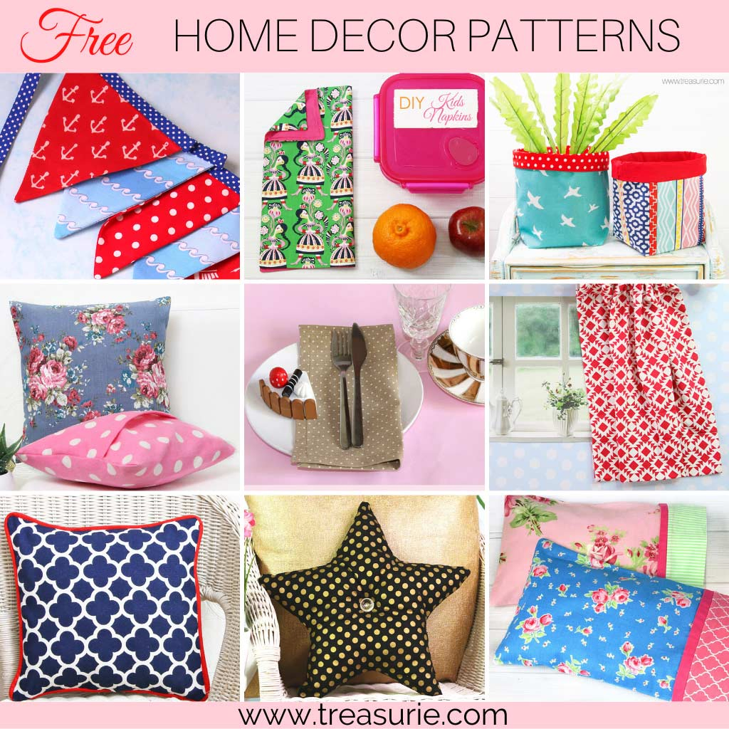 Sewing Projects for Beginners - Home Decor