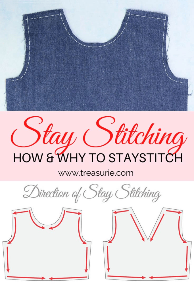 stay stitching, how to stay stitch