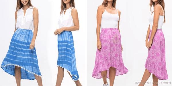 Types of Skirts - Hi Low