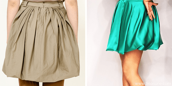 Types of Skirts -  Bubble