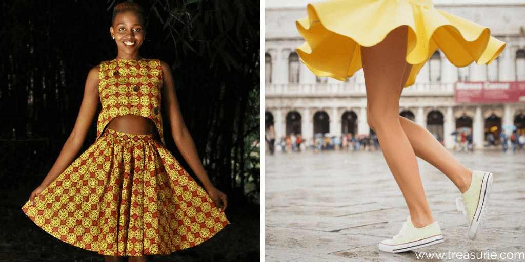 Types of Skirts - Circle