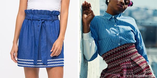 Types of Skirts - High Waist