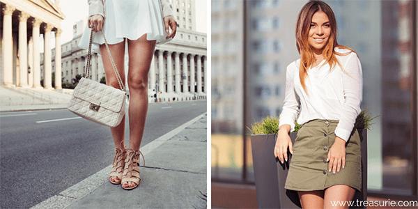 Types of Skirts - Mini Skirt