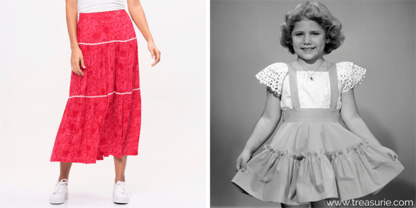 Types of Skirts - Peasant or Tiered