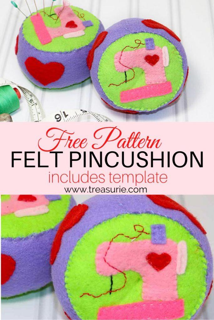Felt Pincushion Pattern