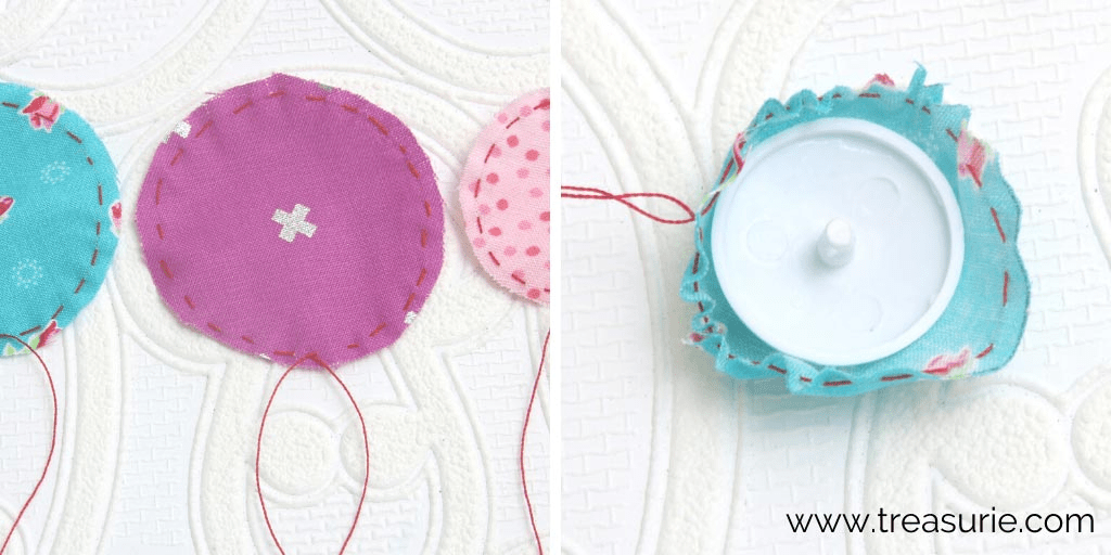 How to Make Fabric Buttons with a Kit