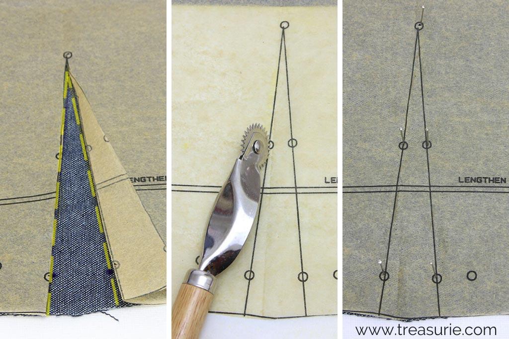 Sewing Darts - Marking Darts 3 Ways