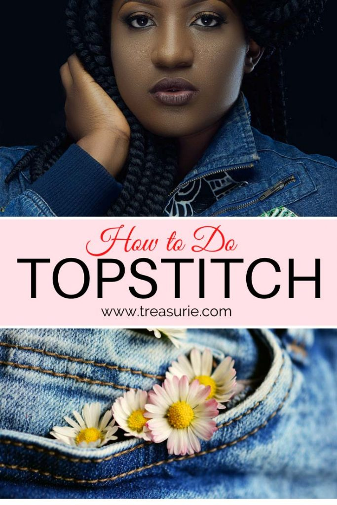 topstitch, how to topstitch