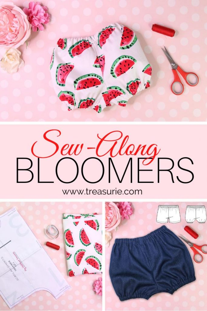 Bloomer Pattern Sew Along