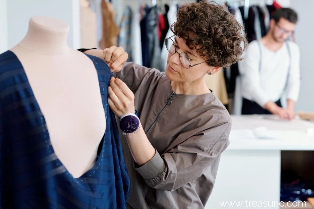 Hand Stitching Used in Fashion Design