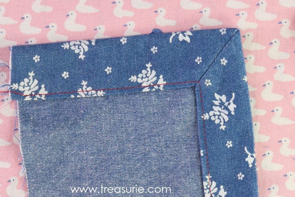 Sewing Corners - Mitered