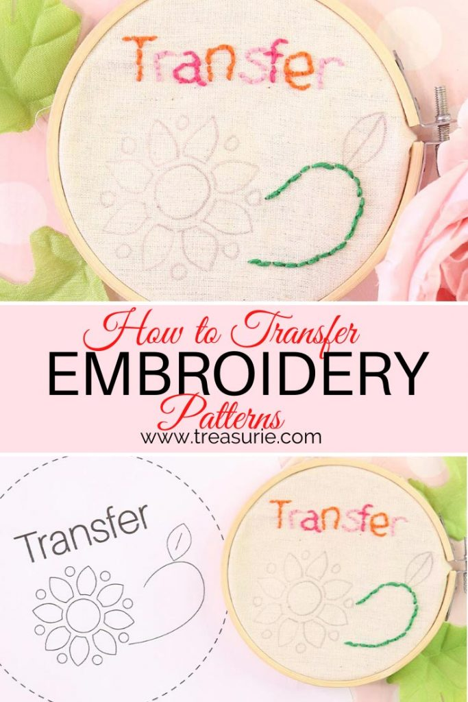 Embroidery Transfer Paper Printer : embroidery, transfer, paper, printer, Transfer, Embroidery, Patterns, TREASURIE