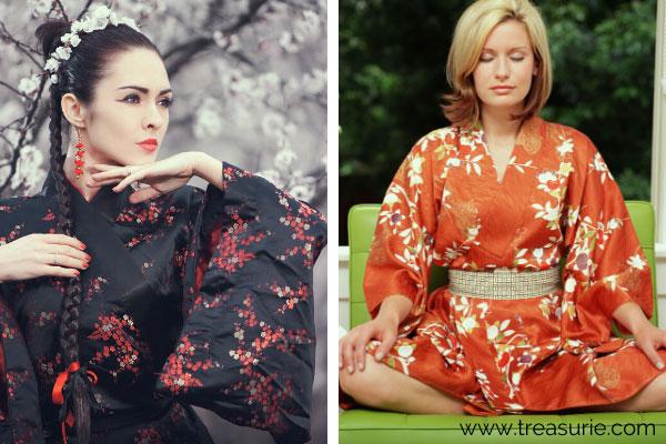 Types of Dresses - Kimono