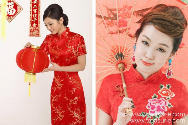Types of Dresses - Cheongsam
