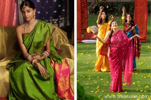 Types of Dresses - Sari