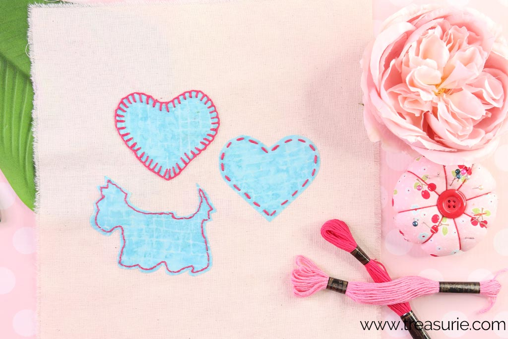 How to Sew a Patch with Applique