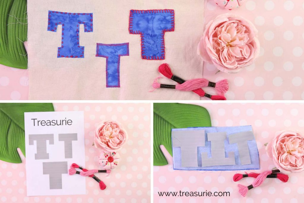 How to Applique Letters