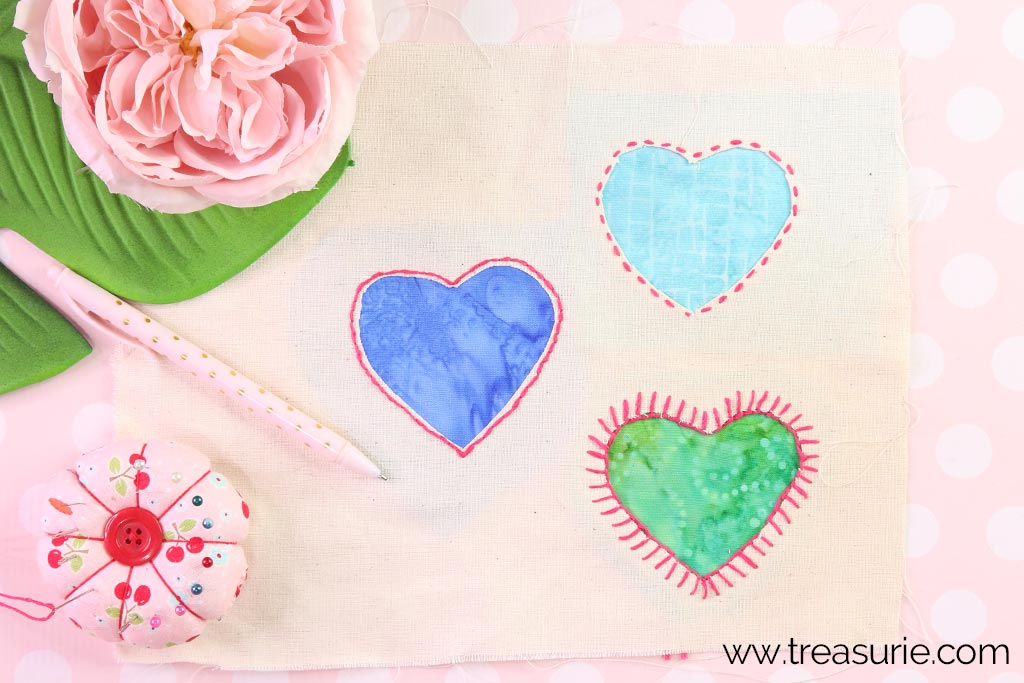Reverse Applique by Hand