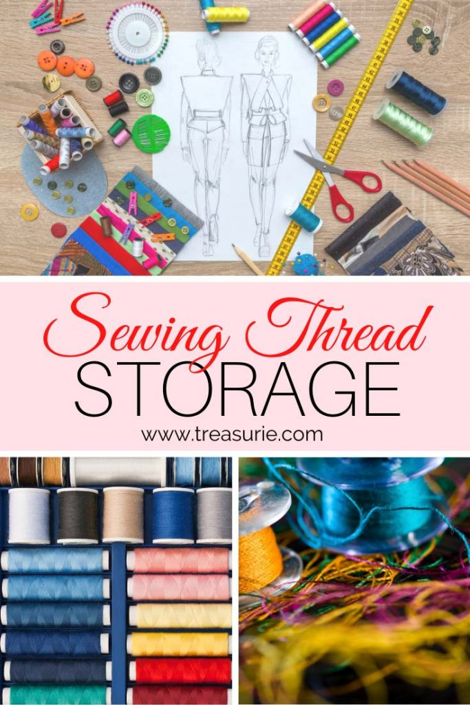 Sewing Thread Storage