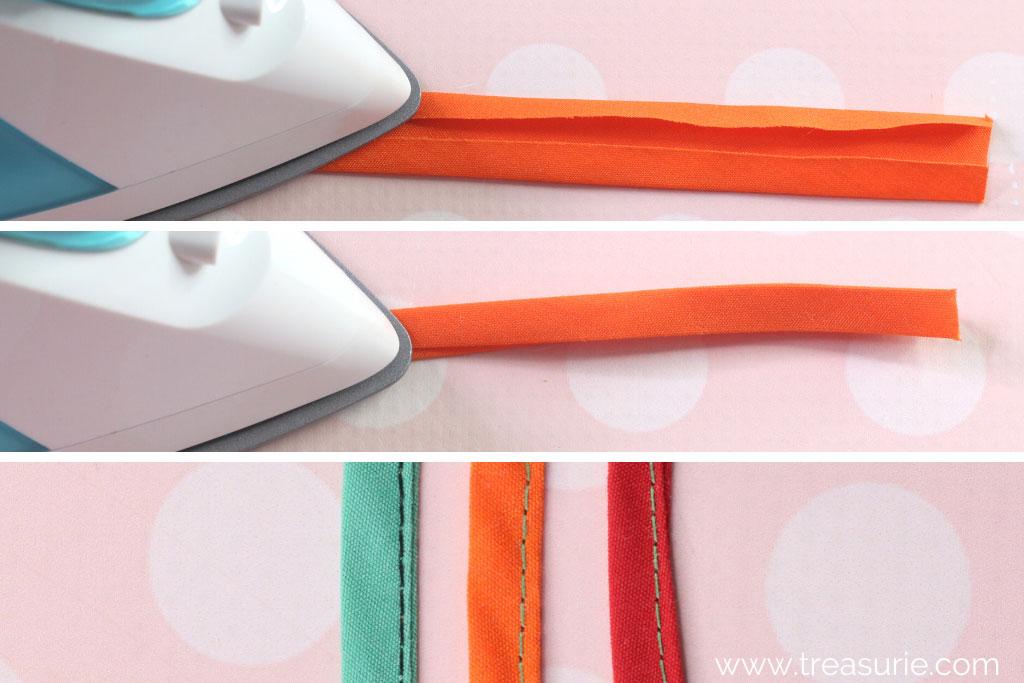 Spaghetti Straps Folded Method
