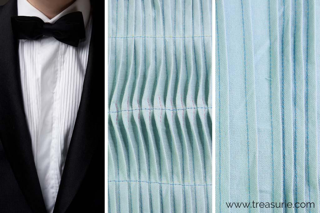Types of Pleats - Pintucks