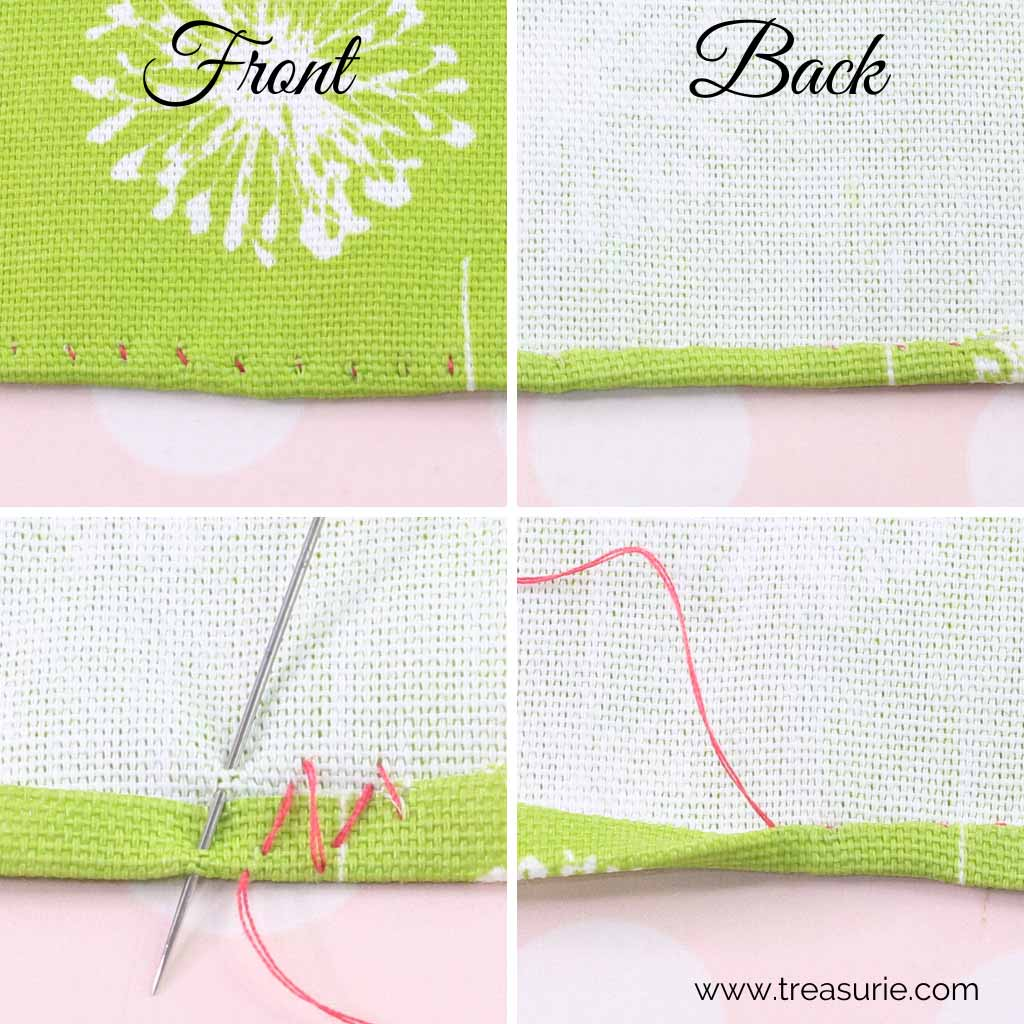Hemming Stitch - Rolled Hem Stitch