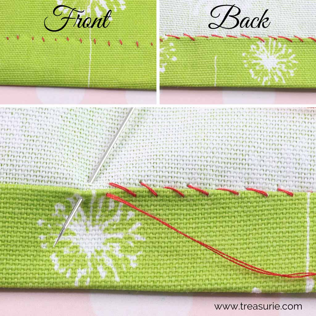 Hemming Stitch - Whip Stitch