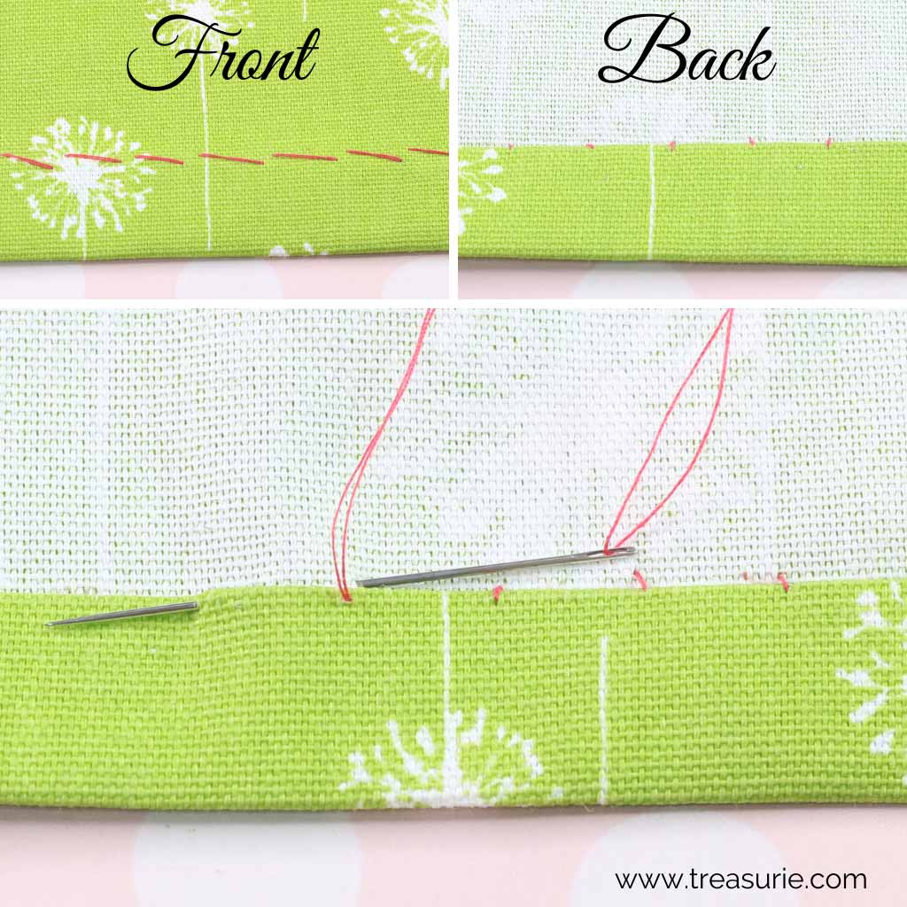 Hemming Stitch - Felled Stitch