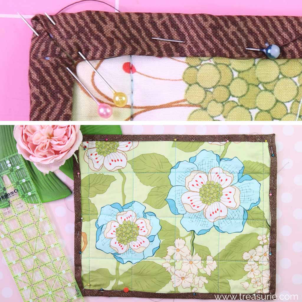 How to Bind a Quilt with Backing Fabric