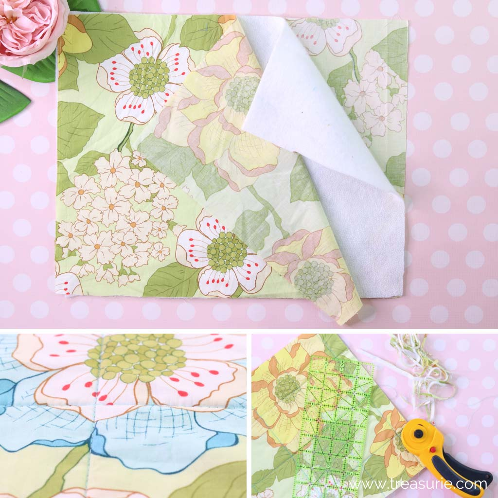 How to Bind a Quilt - Layering