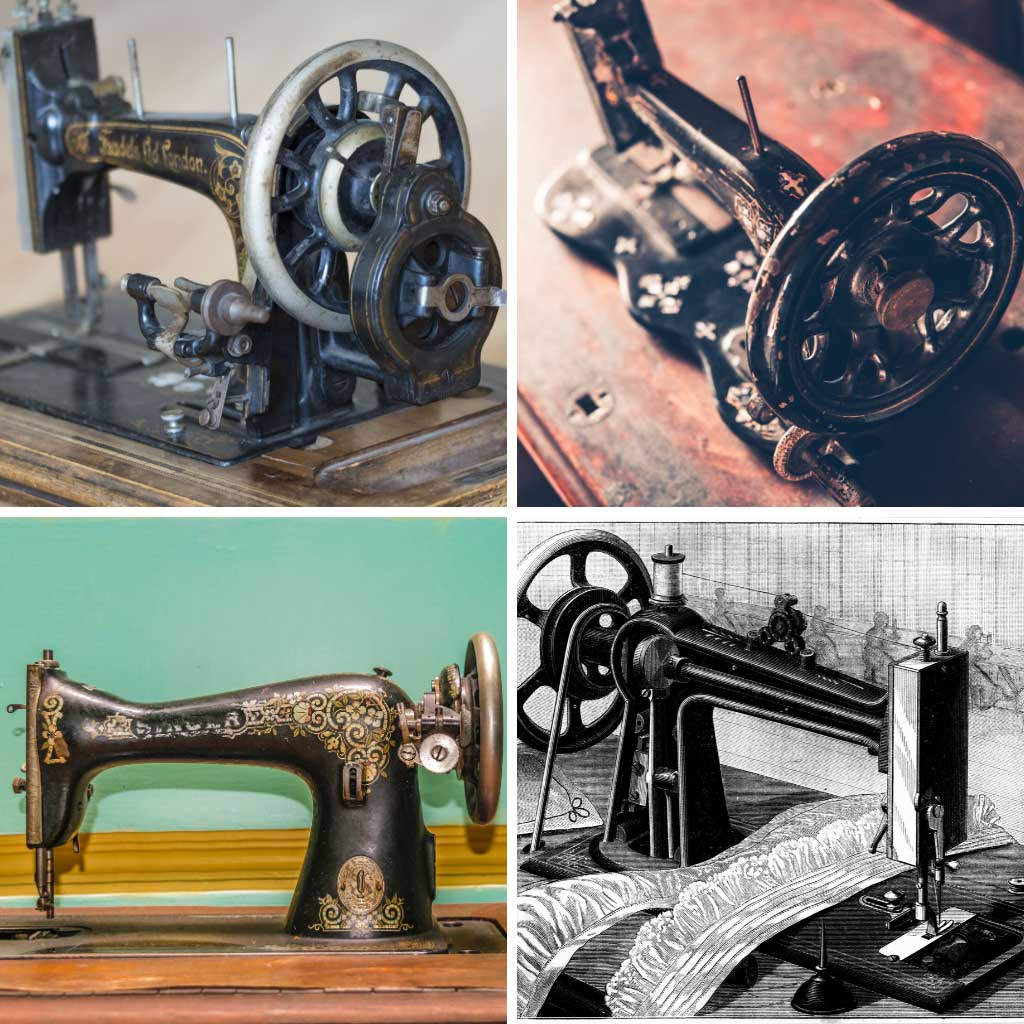 Types of Sewing Machines - Mechanical