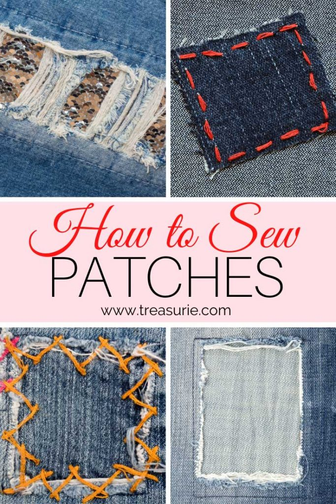 How to Sew a Patch – The Correct Way