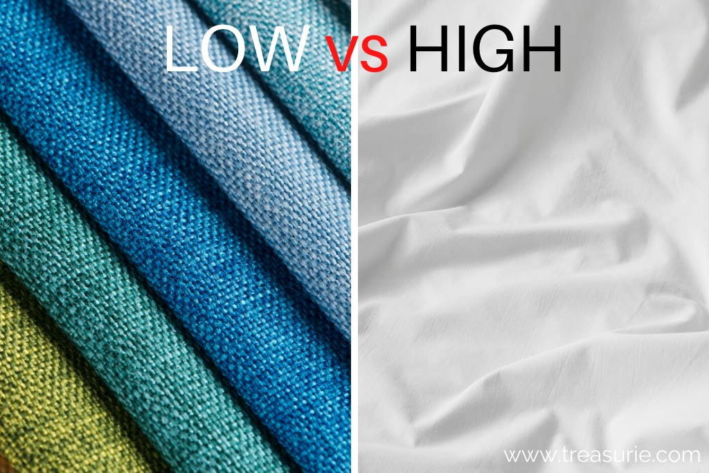 Low Thread Count vs High Thread Count