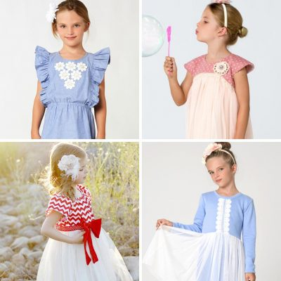 girl dress patterns for special occasion