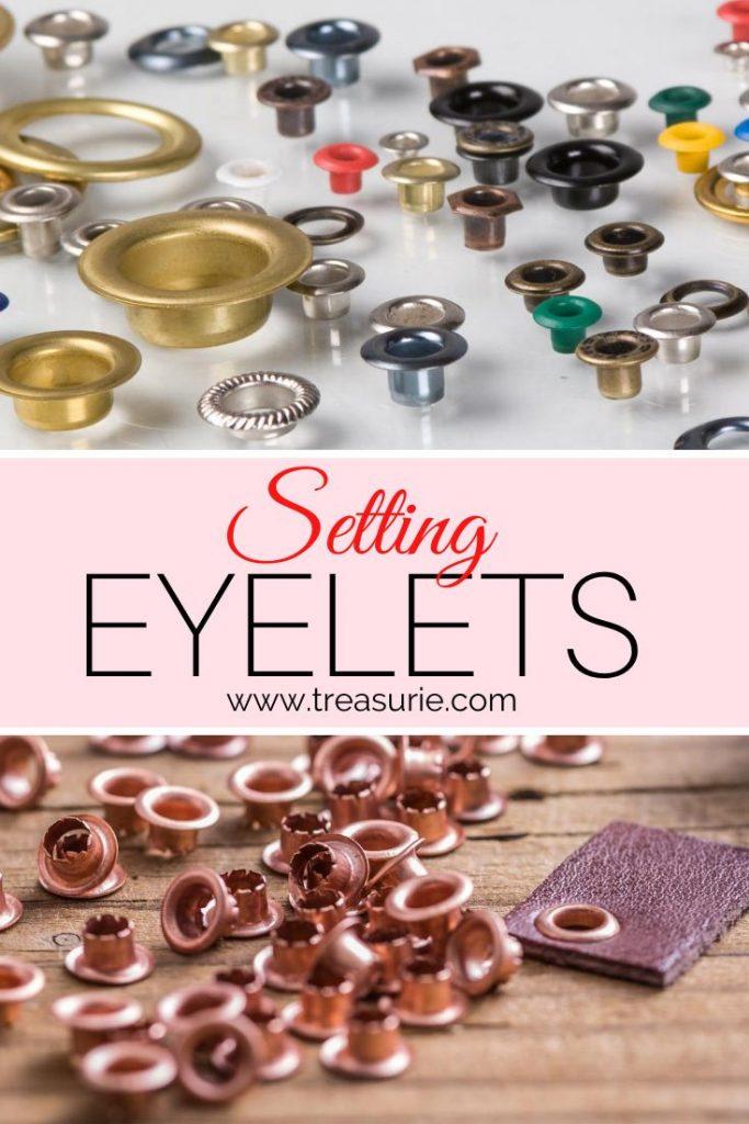 Setting Eyelets