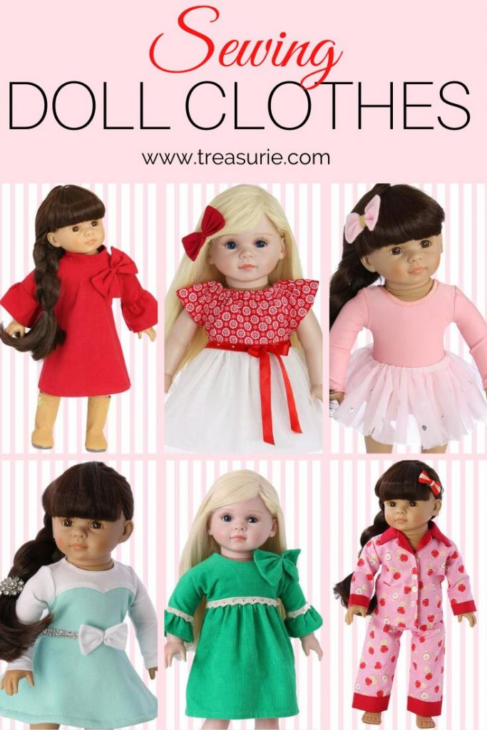Making Doll Clothing & How to Sew Doll Clothes