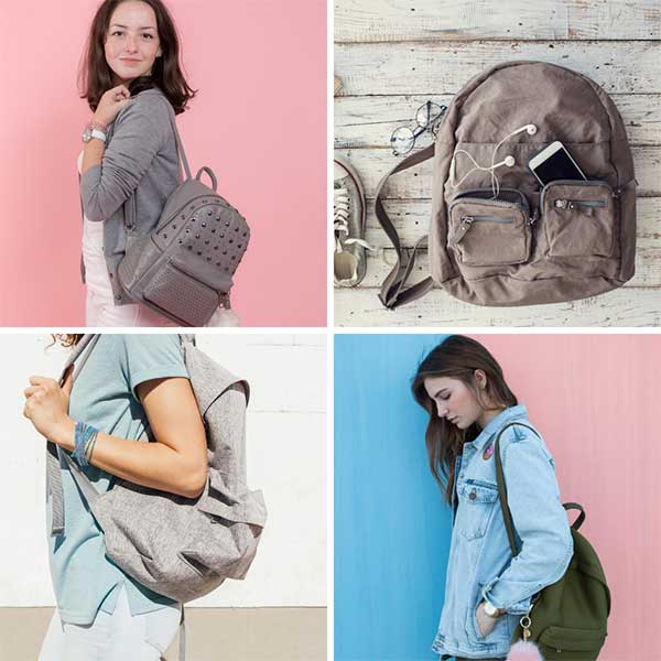 Types of Bags backpacks