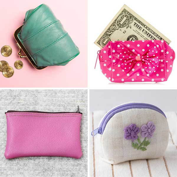Types of Bags coin purses