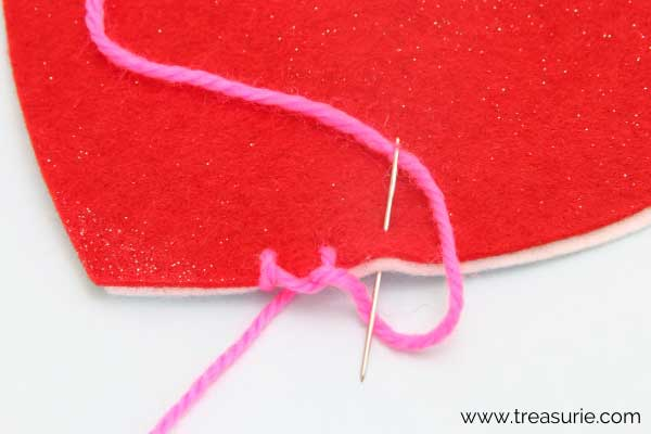 Repeat Blanket Stitch