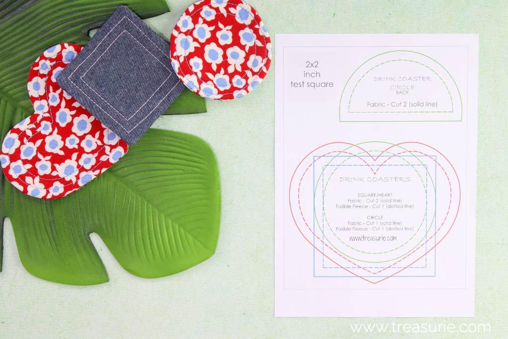 Fabric Coaster Pattern