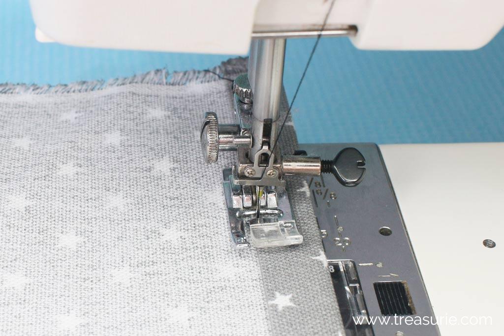 Stitching a Double Fold Hem