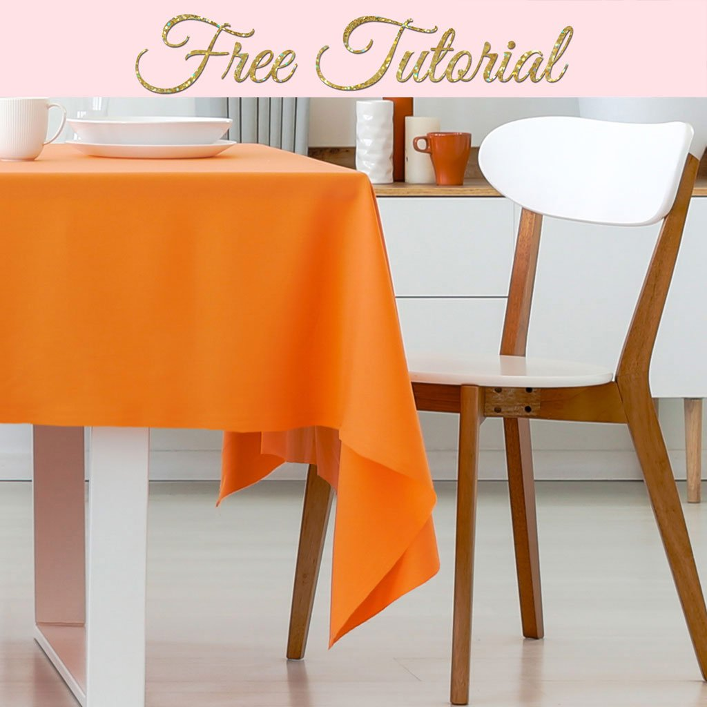how to make a tablecloth