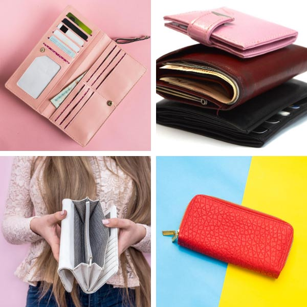 Types of Bags wallets