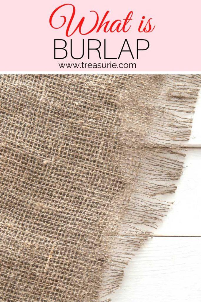 What is Burlap