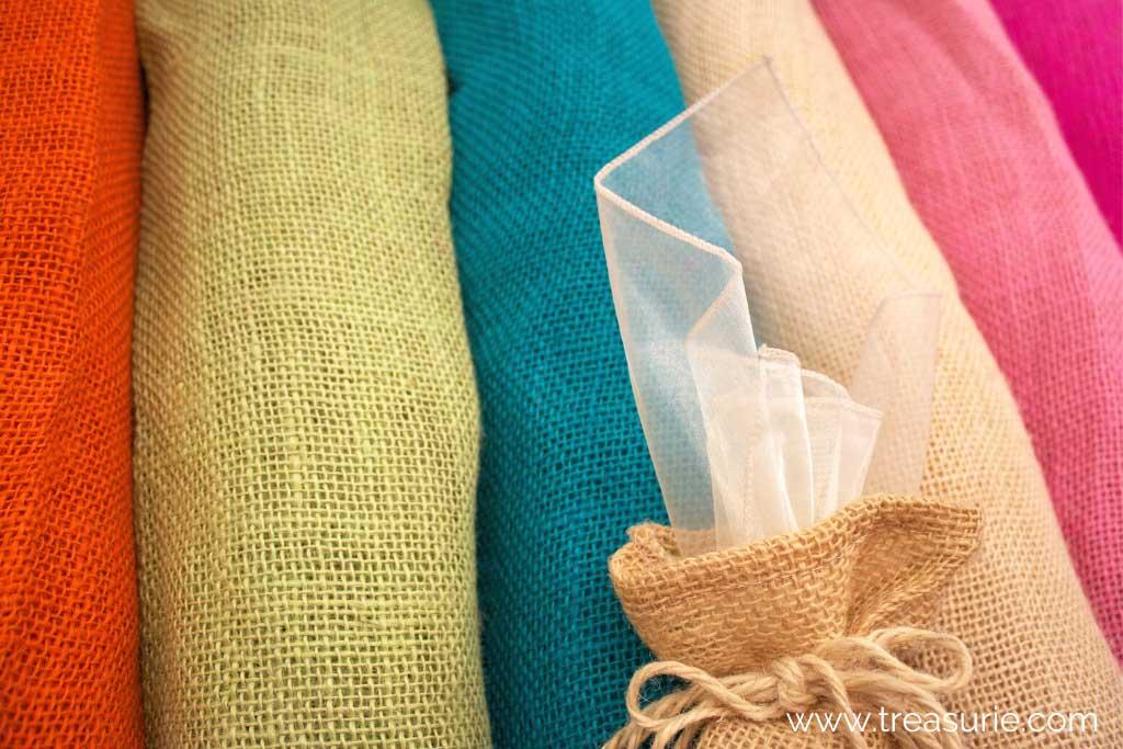 What is Burlap - Colors