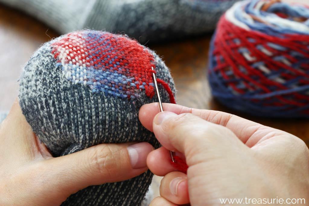darning stitch