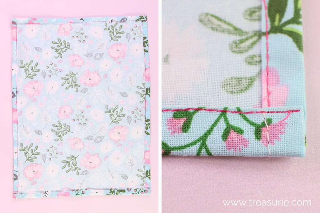 DIY Tea Towel Hems