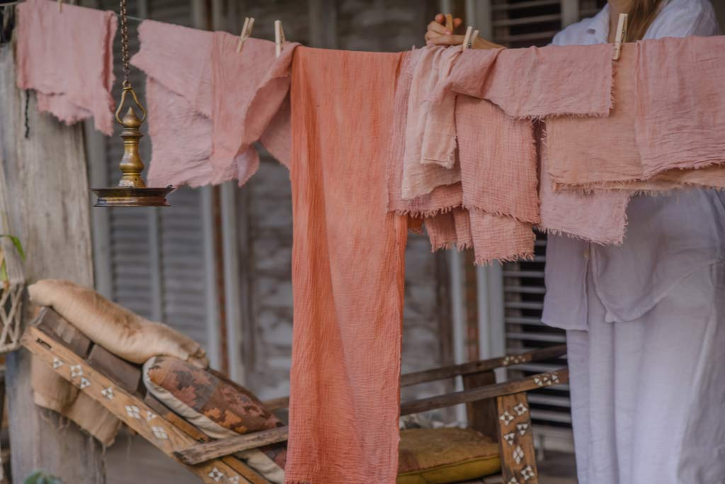 How to Dye Fabric and Dry